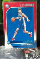 2019-20 NBA HOOPS MATISSE THYBULLE #239 RED PARALLEL RC 76ERS FLAWLESS LOW POP!!