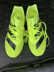 adidas Adizero Pro Running Shoes Solar Yellow/Core Black FY0101 Men's Size 10