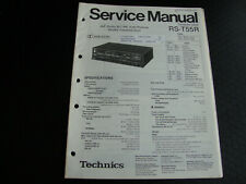 Original Service Manual Schaltplan Technics RS-T55R