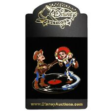 New ListingToy Story 2 Woody & Jessie on Record Disney Auctions Pin • Le 500 • Feb 2005