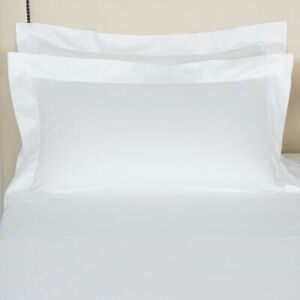 $115 FRETTE HOTEL SINGLE AJOUR COTTON SATEEN 1 STANDARD SHAM SET WHITE ITALY NEW