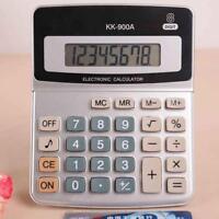 Calculator Business Button Battery Powered 8Digit Electronic Voicever Deskt C6W1