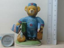 Franklin Mint Max the Bellhop Bear Po 00004000 rcelain Figurine