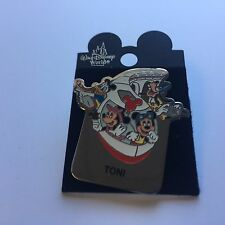 WDW - Monorail TONI Name Pin FAB 4 Mickey Minnie Goofy Donald Disney Pin 15004