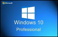 Microsoft Windows 10 Professional MS Win 10 Pro 32 / 64 Bit Key Download Mail