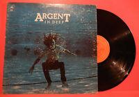 ARGENT IN DEEP VINYL LP 1973 ORIGINAL PRESS GREAT CONDITION! VG+/VG!!