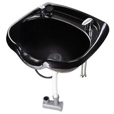 Shampoo Bowl Hair Sink Basin Beauty Salon Barber Spa Equipment w/ Gel Neck Rest