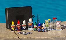 Swimming Pool & Spa 8 Way Chemical Test Kit-Test Chlorine/Bromine/pH