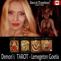 do you know your demon? ask me now a consultation & prediction tarot cards deck