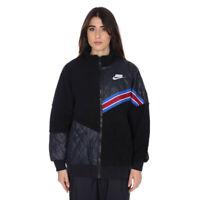 Nike Sherpa Jacket Jacket Donna BV3040 011 Black Black