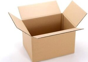 "5 x 18x18x22.5"" CARDBOARD BOX Single Wall Parcel Mail Shipping Packing Storage"