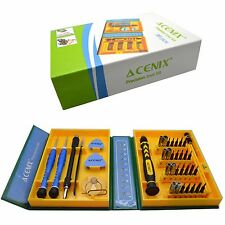 38 In1 Premium juego de destornillador Tool Kit de reparación Fix iphone/laptop/macbook / wii/psp