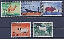 Somalia 191/95 postfrisch / Haustiere (6813) ...................................