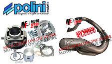 CILINDRO 102 CC DM 55 POLINI TESTA RACING VESPA 50 PK S XL MARMITTA PROMA