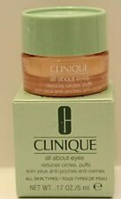 New Clinique All About Eyes Reduces Circles Puffs 5ml .17 Sample Size