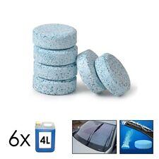 Lot de 6 pastilles effervescentes liquide lave glace 6 x 4L