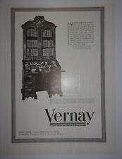 1938 Vernay Old English Furniture, Silver, Pottery, Glassware Advertisement