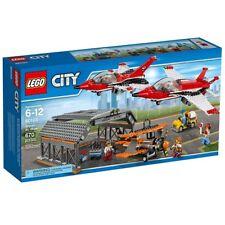 Lego City Town 60103 Airport Air Show Plane Hangar Jet Pilot Car Present NISB