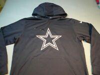 Nike NFL Dallas Cowboys Logo Premier MEDIUM BRAND NEW Hoodie KO Pullover NWT