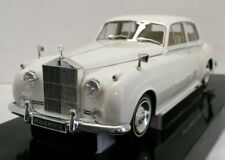 Limousines miniatures blanche 1:18