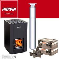 Harvia M3 SL Holzsaunaofen Holzbeheizt Holz Saunaofen Holzofen Sauna