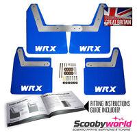 Blue Mudflaps for Subaru Impreza New Age WRX & STI 2001-2007 WRX Style Decals