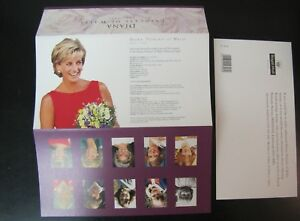 Stamp stamps England Great Britain Princess Diana of Wales 26 p X 5  1997