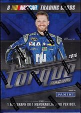 2016 Panini Torque Racing Blaster sealed box 8 NASCAR card 1 auto or memorabilia