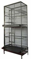 LARGE Tall Double STACKER Wrought Iron Ferret Sugar Glider Small Animal Cage 684