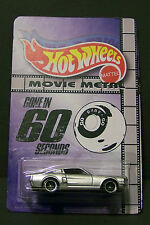 """Custom HotWheels ELEANOR and package of  """"Movie Metal""""  from Gone in 60 Seconds"""