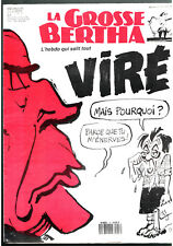 LA GROSSE BERTHA n°18 ¤ 1991 ¤ MITTERAND / CABU / TIGNOUS / HERAN