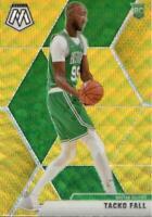 Tacko Fall Mosaic Gold Wave SSP #244 Boston Celtics Rookie