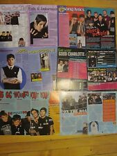 Good Charlotte, Lot of Eight Full and Two Page Clippings
