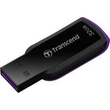 Transcend JetFlash 360 32GB USB 2.0 Flash Stick Pen Memory Drive - Black
