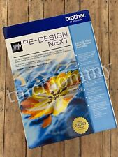 New FULL VERSION Brother PE-Design Next Embroidery Digitizing Software
