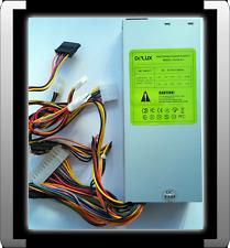 DeLUX MINI ITX NETZTEIL 250 WATT 20+4 STECKER 2x MOLEX 2x S-ATA 1x FLOPPY TOP