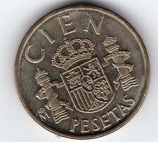 MONEDA DE 100 PESETAS 1982 (LYS ABAJO)