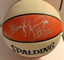 Sheryl Swoopes Signed Official WNBA Basketball Comets BAS Beckett F96473