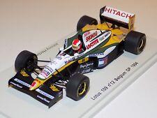 1/43 Spark F1 Lotus 109 car #12 Belgian Grand Prix 1994 Johnny Herbert S1670