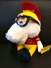 "Usc Trojan Horse Mascot 11"" Plush Nwt Study Buddies Team Nerds 2011 Football"