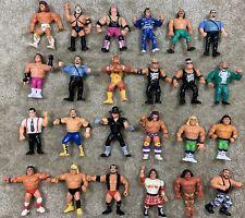 WWF Hasbro Lot Of 24! All Actions Work!! Hogan Nastys Warrior Razor Undertaker