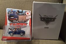 DISNEY PIXAR CARS DELUXE IVAN KMART EXCLUSIVE IN MAILER BOX Y8260 *NEW*