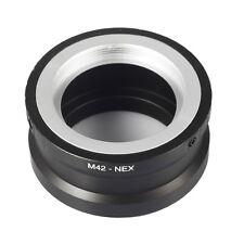 To Sony M42-NEX E mount Camera Adapter Ring NEX5 NEX6 NEX7 Alpha A3500