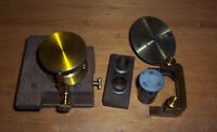 Vintage job lot misc items brass precision pieces shed clearance find