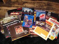 Marklin - Catalogue 1969 - 1977 - 1980 - Folders et publicité - Mini-club - M1