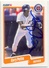 GARY PETTIS DETROIT TIGERS SIGNED CARD TEXAS RANGERS ANGELS PADRES WHITE SOX