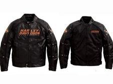 Harley Davidson Men's Alternator Swithchback Leather Jacket 2 in 1 L 98117-08VM