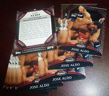Jose Aldo UFC 2011 Topps Finest Debut Card #95 163 156 142 136 129 WEC 51 48 44