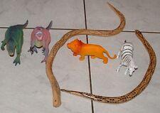 Una selección de juguetes de animales