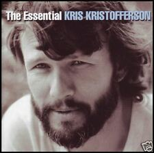 KRIS KRISTOFFERSON (2 CD) THE ESSENTIAL ~ GREATEST HITS 70's (HIGHWAYMEN) *NEW*